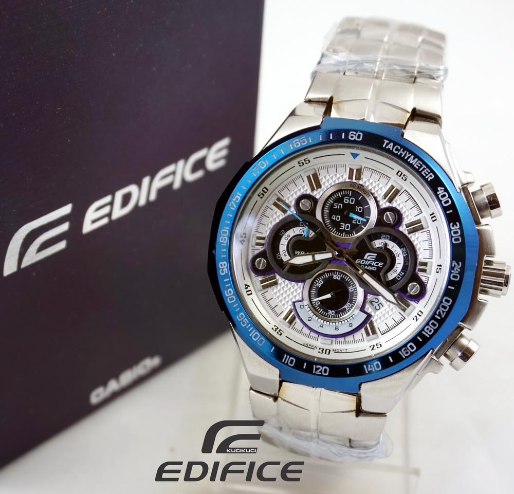 Casio Edifice EFA-554 silver blue