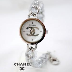 Chanel Bulat Silver rantai