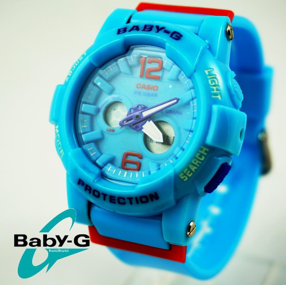 Baby G BGA 180 Biru