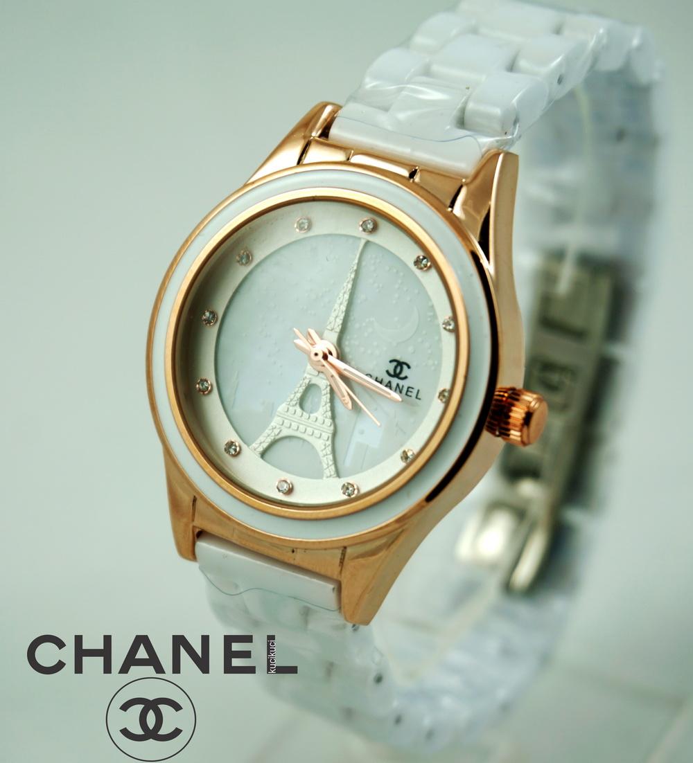 Chanel Paris Gold White Ceramic