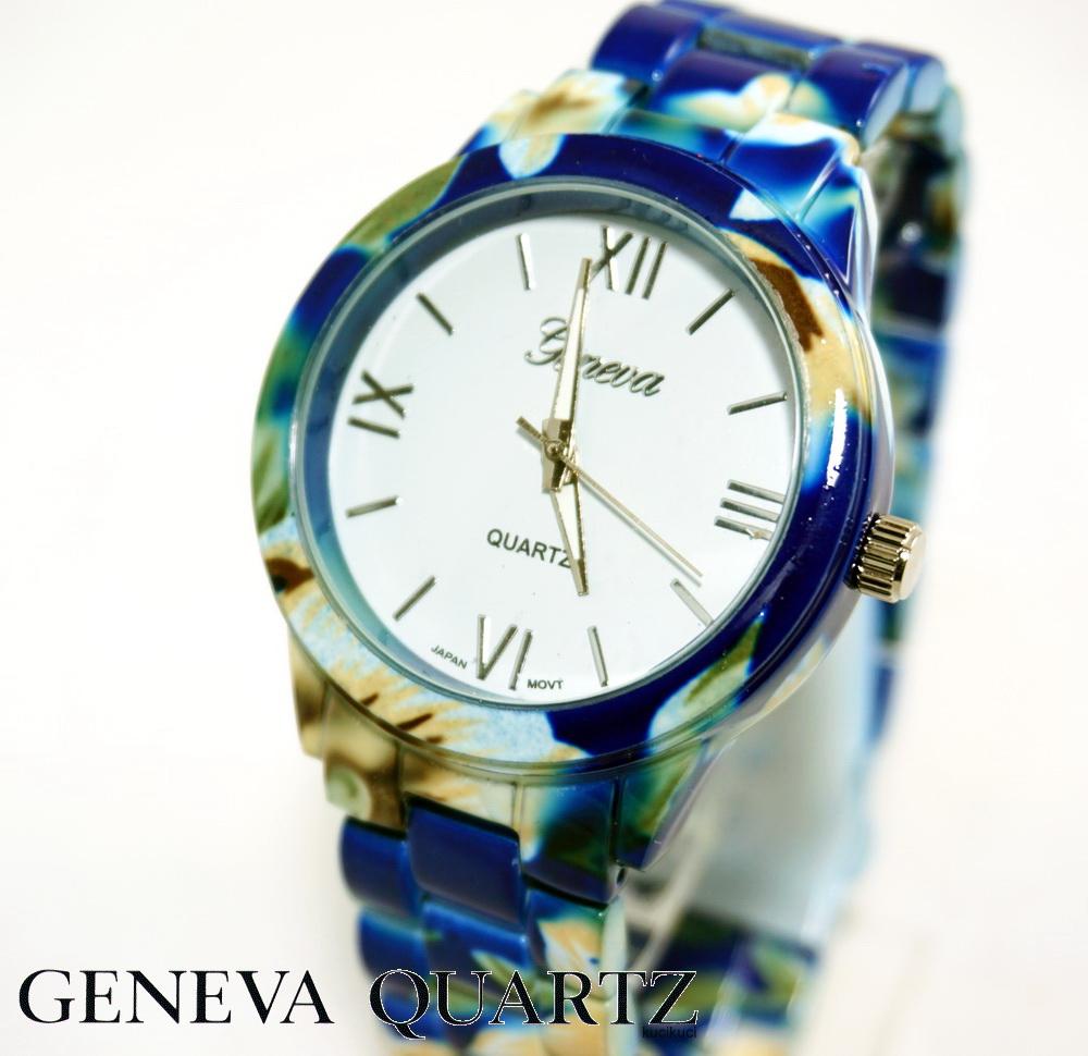 Geneva Flower Biru