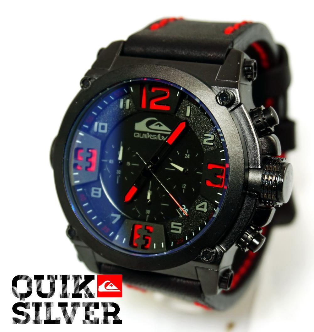 QuickSilver Black Red