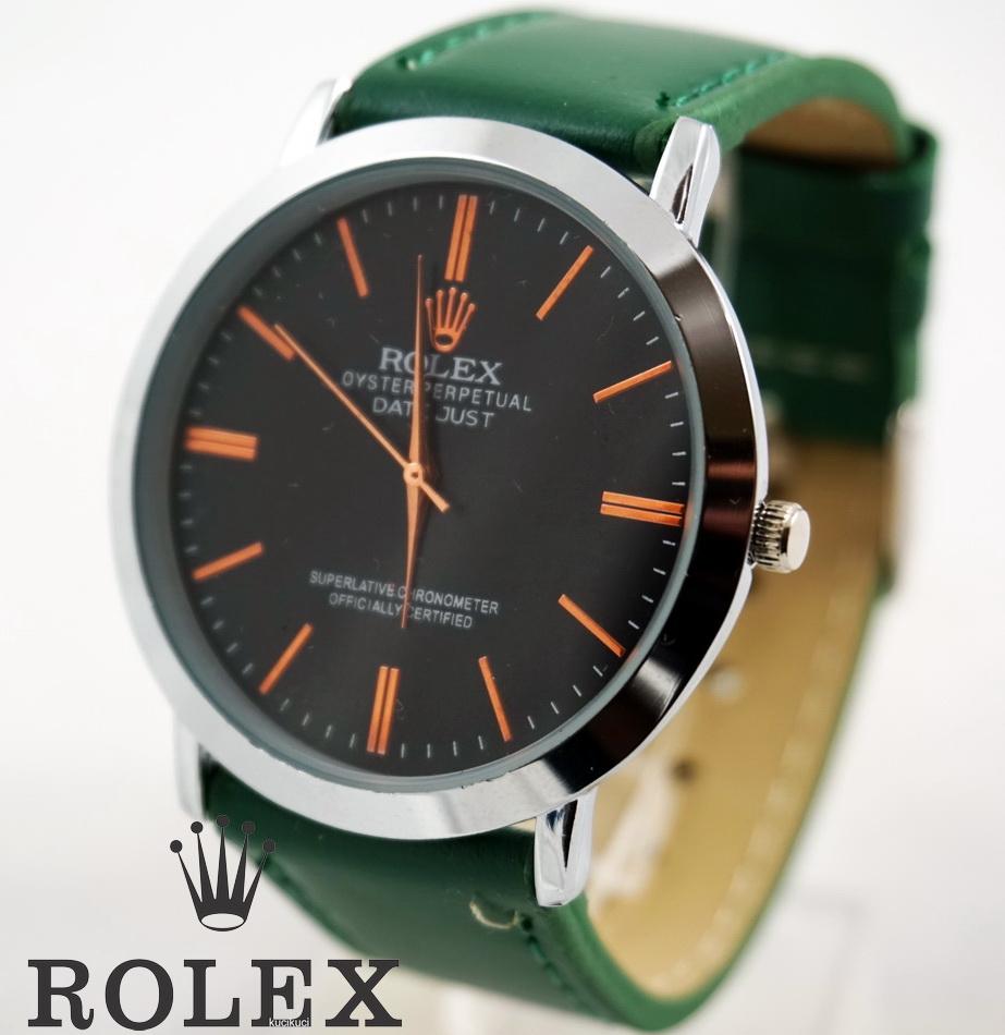 Rolex Polos Hitam Hijau