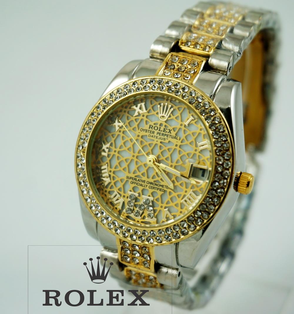 Rolex Romawi Gold Ladies