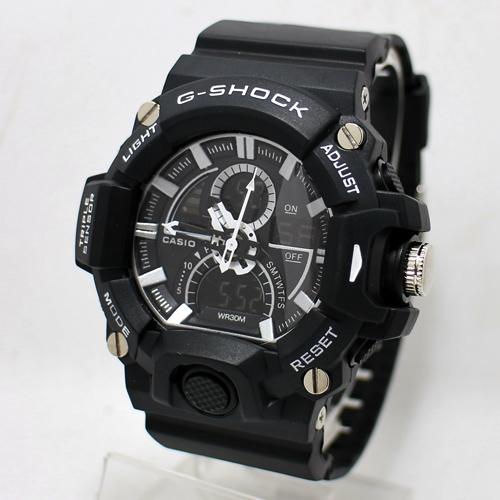 G Shock 8960 Hitam List Putih