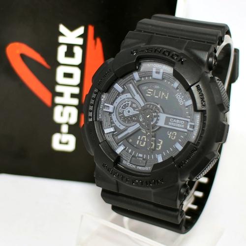G Shock GA 110 Black grey