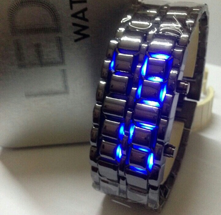 Iron Samurai Hitam Light Biru 2