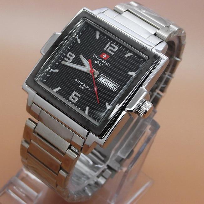 Swiss Army Silver Black 1