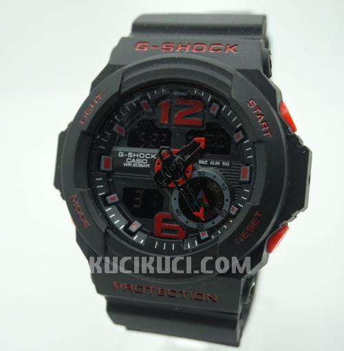 GA 310 Black Red