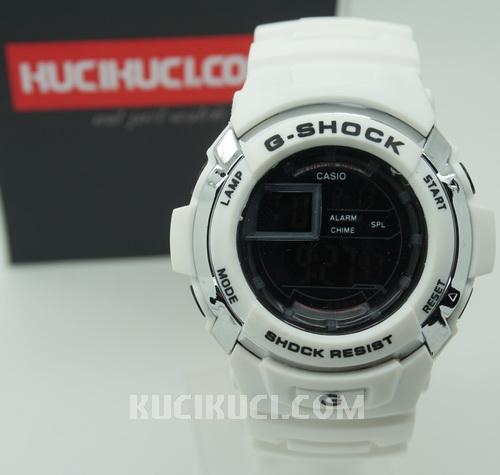 Gshock 7710 White