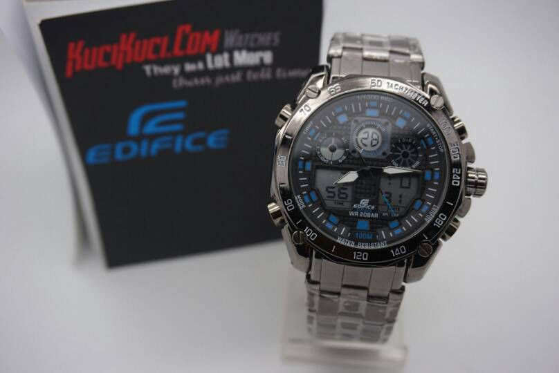 Edifice efa 100 Black List Blue
