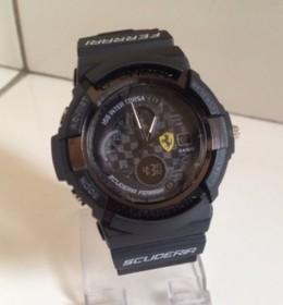 G-Shock Ferrari Ful Black